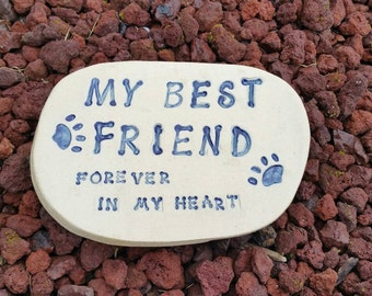 Beloved Pet Stone  Ready to Ship