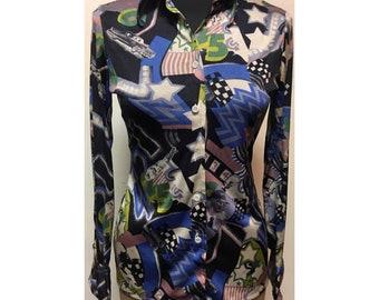 Vintage 70's Womens Nik Nik  Shirt