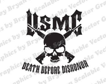Death Before Dishonor dfx,SVG EPS files,Silhouette Files,Scan n Cut files,Cricut Files,Digital cut file,SVG Cut File,Vinyl Cutter,Vector Art