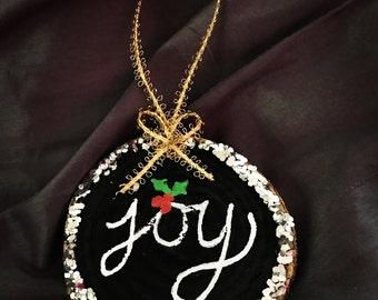 Customized Christmas Joy Ornament