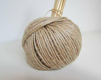 10 m of rope Twine beige burlap - ref 16