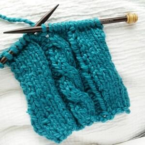 Rosewood Single Point 9 inch Knitting Needles (Clickin'Stix)