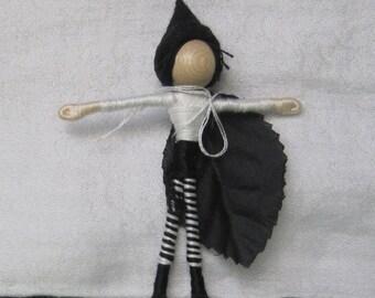 Sale - Leaf Boy Doll, Waldorf Flower Fairy Doll, Elf dolls