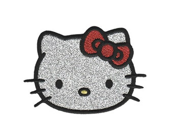 Hello kitty iron on applique official hello kitty iron on