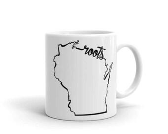 Wisconsin Roots - Coffee Mug