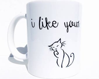 Wife gift, girlfriend gift, christmas gift for girlfriend, cat lover gifts, funny coffee mug, personalized mug, funny gifts, cat gifts