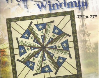 Weathered Windmill Paper Piecing Pattern by Judy Niemeyer