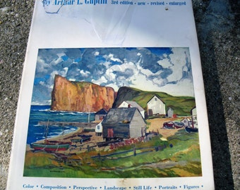 Vintage Book Oil Painting Step By Step by Arthur L. Guptill How To Paint with Oils
