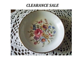 Royal Worcester Coaster - Bournemouth - Avon - 1982 - Trinket Dish - CLEARANCE SALE