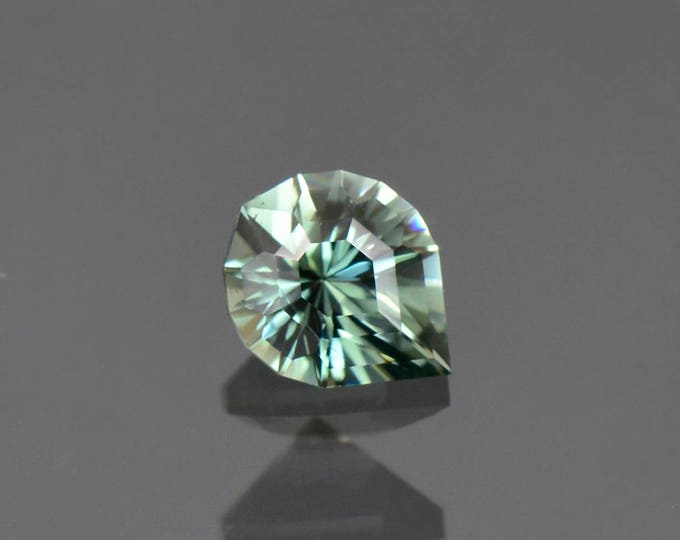 FLASH SALE! Fantastic Precision Cut Evergreen Color Tourmaline Gemstone from the Congo 1.35 cts.