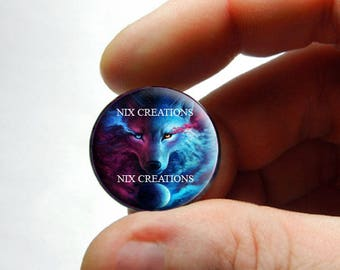 Spirit of the Wolf Cabochon for Jewelry and Pendant Making