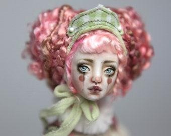 Porcelain BJD Doll Victorian Strawberry Clown Renaissance FHDolls Forgotten Hearts