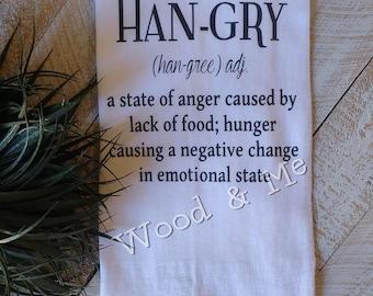 Hangry Kitchen Towel