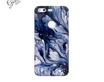 Pixel case, google pixel XL cover. marble pixel case, pixel xl case, marble pixel xl case, Blue marble Google Pixel case, Phone Case, marble