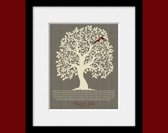 Roots and Wings Poem, Thank You Parents, Wedding Tree with Lovebirds, Parent's Thank You Gift, Thank You Mom and Dad, Thank You Gift