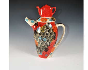 Large Teapot, Unusual Teapot, Fun Teapot