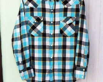 Vintage 60's FORE MOST Western Shirt
