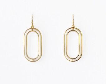 Gold Earrings | Minimalist Earrings | Gold Earrings