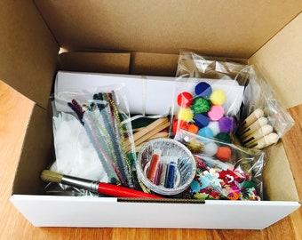 Kids craft box/pack