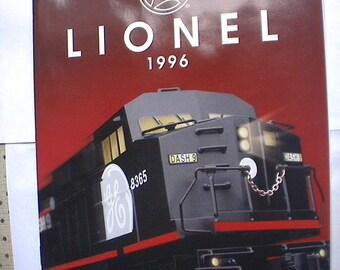 Mint Lionel Toy Train Catalog 1996