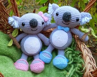 Karl & Karla Koala - Amigurumi Crochet Pattern