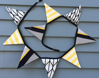 Bunting / Fabric Bunting / Party Banner / Party Decorations / Wedding Bunting / Flags / Birthday