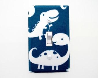 Dinosaur Light Switch Cover - Dinosaur Switch Plate - Boys Dinosaur Bedroom