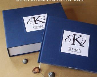 Bar / Bat Mitzvah Memento Box · Bar / Bat Mitzvah Keepsake Box · Bar / Bat Mitzvah Gift · Personalized Keepsake Box · Custom Clamshell Box