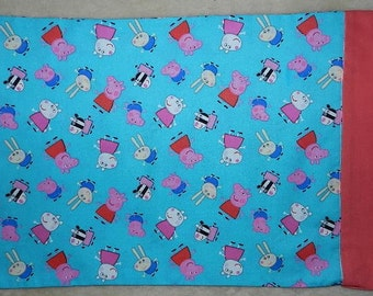NEW   3 Sizes Available - Peppa Pig Pillowcase