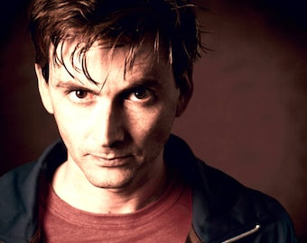 Doctor Who David Tennant Counted Cross Stitch Pattern