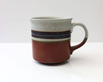 Mirage. Otagiri coffee mug with stripes.