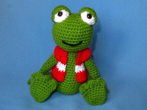Amigurumi For Dummies Book : My friend frog hugo amigurumi crochet pattern pdf e book