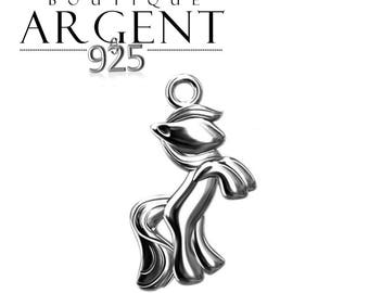 Pendant Silver 925 16.8 mm pony