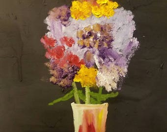 Flowers in a Vase #3