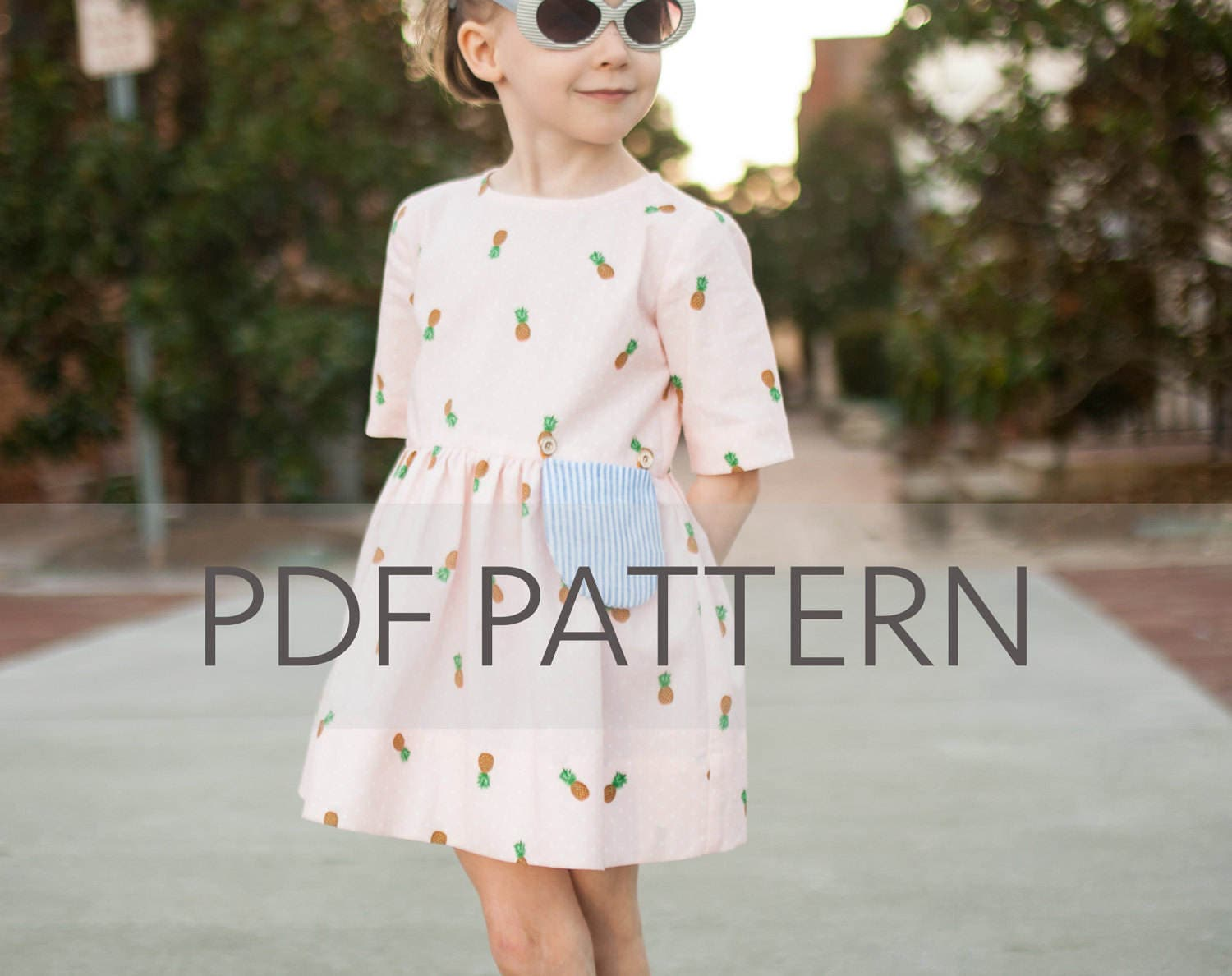 Marlow dress pdf girl dress pattern girl patterns dress zoom jeuxipadfo Images