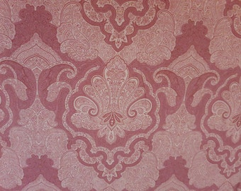 Rose Damask  -Baby/ Toddler Crib Sheet-Fitted Crib Sheet-Sheets- Bedding-Nursery-