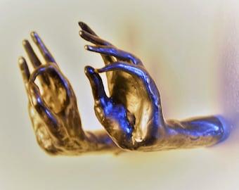 Budas Hands drawer pulls