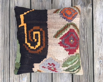 Decorative Kilim Pillow Cover