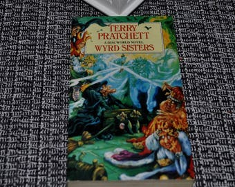 Terry Pratchett, Wyrd Sisters, 1997 Corgi Books