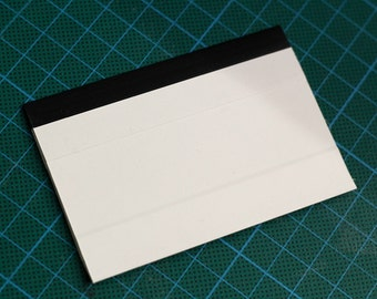 Squeegee for thermofax screen printing