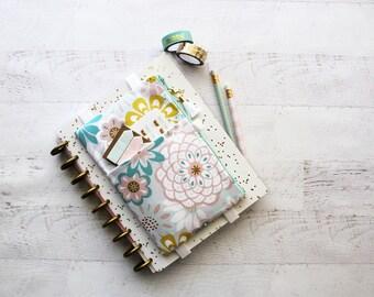 Pencil case - planner band - planner stickers holder - silk tassel - journal bag - life planner cover - weekly planner - planner bag