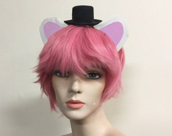 Funtime Freddy Fazbear Five Nights at Freddy's White Bear Costume Cosplay Ears Sister Location FNAF