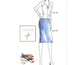 Pattern Classic Skirt
