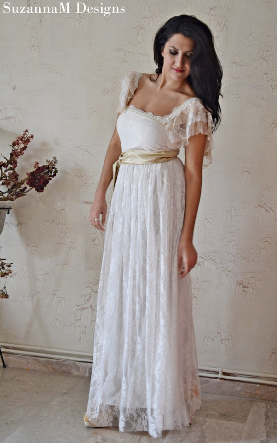 Bridal Gowns Wedding Dress Bohemian Wedding Dress Lace