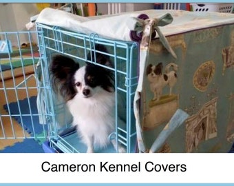 Custom Kennel Cover, Dog Crate Cover, Custom Dog, Crate Cover