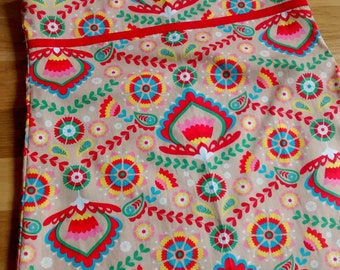 A line summer dresses - bright cheery floral