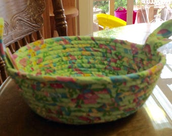 Easter fabric bowl