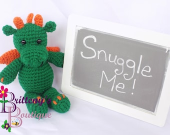 Dragon Stuffed Animal  Green Dragon Stuffed Animal  Cute Dragon  Cute Green Dragon  Baby Dragon  Baby Green Dragon Stuffed Animal