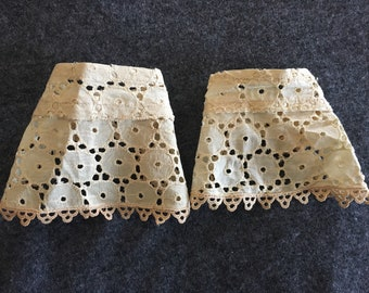 Antique Cuffs/Lace Cuffs/Wrist Cuffs/Bridal Cuffs