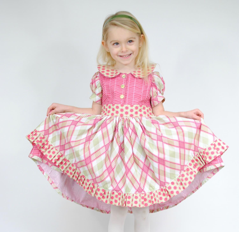 Alice s Tea Party Girls Party Dresses Boutique Dress